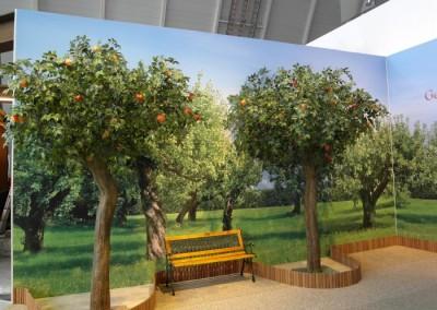 Apfelbäume auf der Intergastra 2014