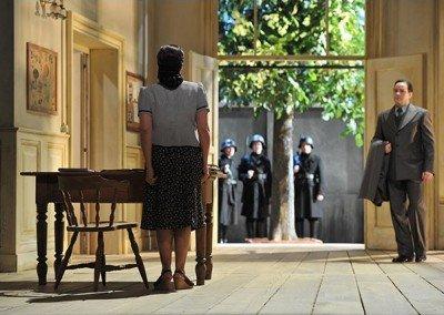 Bühnendekoration auf den Salzburger Festspielen.