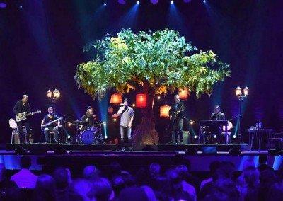 Große Kunsteiche als Bühnendekoration beim Bundesvision Song Contest 2015