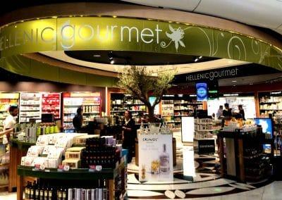 Vorher: Echter Olivenbaum auf dem Airport Athen/ GR