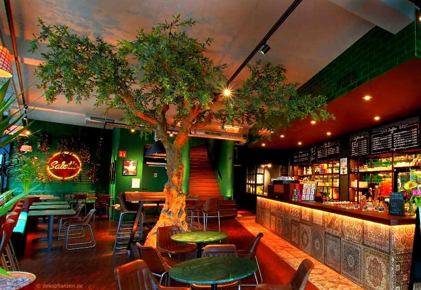 Künstlicher Olivenbaum (Ø Baumkrone 450 cm)