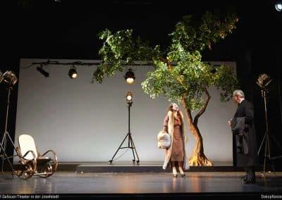 Unser Kunstbaum im Theater in der Josefstadt/ Josef Gallauer, Wien (Höhe 400 cm; Ø 400 cm).
