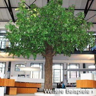 Linden-Kunstbäume zur stilsicheren Dekoration